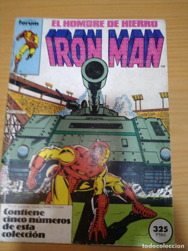 IRON MAN RETAPADO NºS 11 12 13 14 15 FORUM VOLUMEN 1 (Tebeos y Comics - Forum - Iron Man)