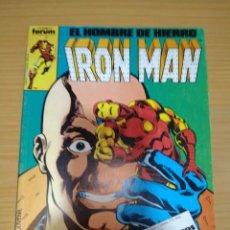 Cómics: IRON MAN RETAPADO NºS 16 17 18 19 20 FORUM VOLUMEN 1 MUY BUEN ESTADO. Lote 264282152
