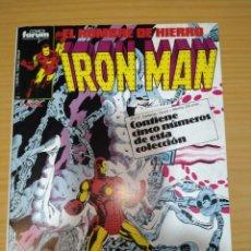 Cómics: IRON MAN RETAPADO NºS 26 27 28 29 30 FORUM VOLUMEN 1 MUY BUEN ESTADO. Lote 264282184