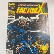 Comics: FACTOR X. Nº 69.- LA CANCIÓN DEL VERDUGO PARTE 6. MARVEL COMICS / COMICS FORUM. Lote 264326928