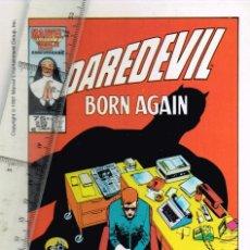 "Cómics: 1991 COMICS FORUM MARVEL ""DAREDEVIL BORN AGAIN"" MARVEL 25TH. ANNIVERSARY - NO RECONOZCO FIRMA. Lote 264455424"