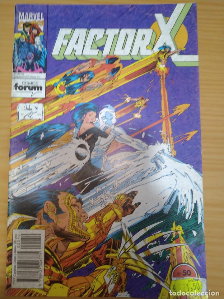 FACTOR X Nº 50 VOLUMEN 1 FORUM BUEN ESTADO (Tebeos y Comics - Forum - Factor X)