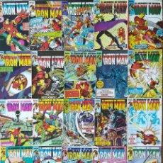 Cómics: IRON MAN 34 GRAPAS 3 RETAPADOS. Lote 264511974