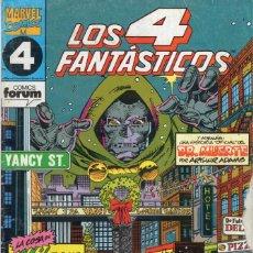 Comics : LOS 4 FANTASTICOS VOL. 1 Nº 118 - FORUM - VER DESCRIPCION - SUB01D. Lote 264546764