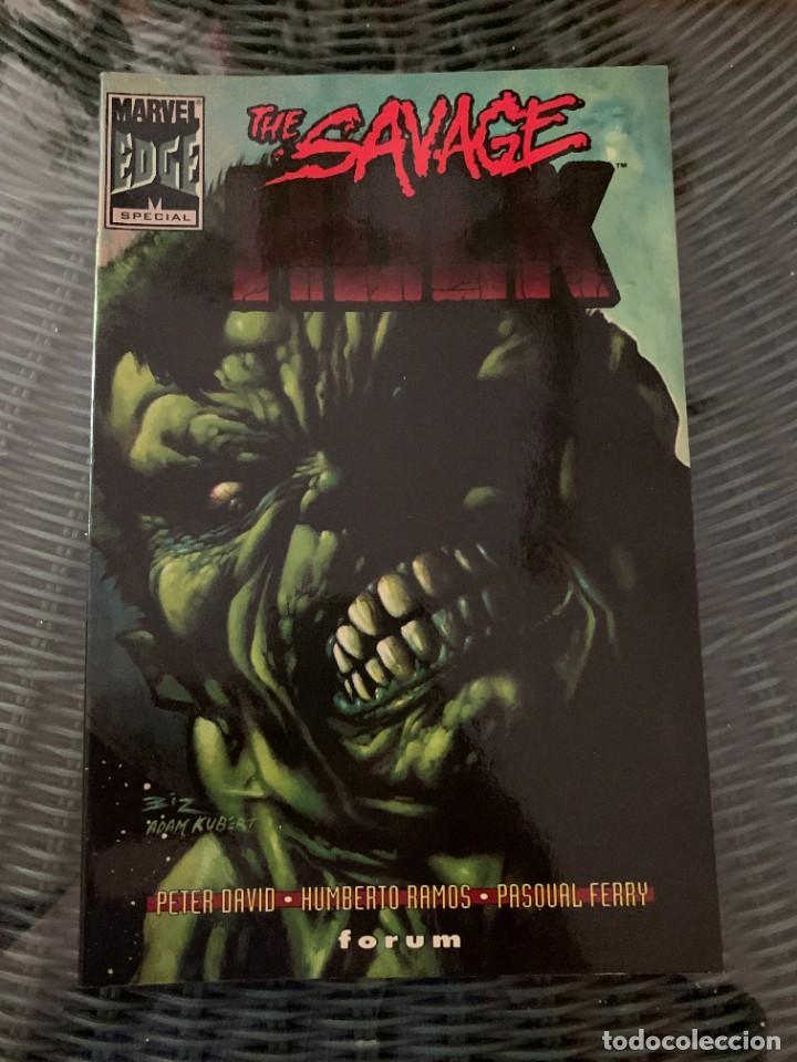 Cómics: Espectacular lote de Hulk - Forum (16 años USA completos) - Foto 21 - 262649295