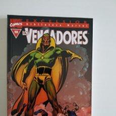 Cómics: BIBLIOTECA MARVEL EXCELSIOR ~ LOS VENGADORES Nº 10 ~ FORUM. Lote 264768254