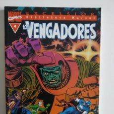 Cómics: BIBLIOTECA MARVEL EXCELSIOR ~ LOS VENGADORES Nº 4 ~ FORUM. Lote 264769154