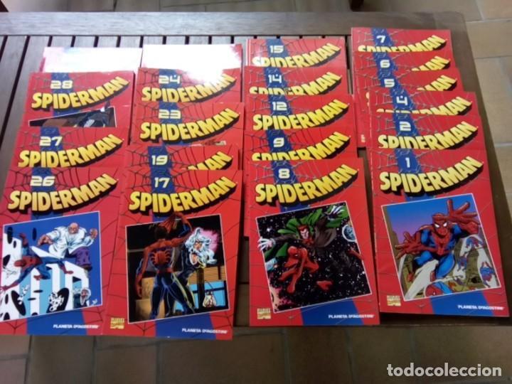 LOTE DE 20 COMICS SPIDERMAN VOLUMEN ROJO PLANETA -AGOSTINI (Tebeos y Comics - Forum - Spiderman)
