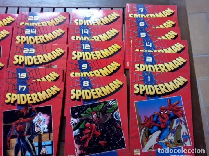 Cómics: LOTE DE 20 COMICS SPIDERMAN VOLUMEN ROJO PLANETA -AGOSTINI - Foto 2 - 264773294