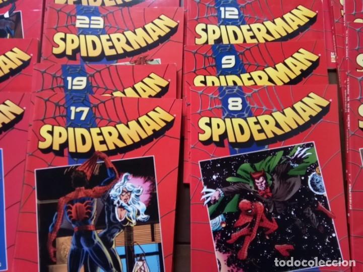 Cómics: LOTE DE 20 COMICS SPIDERMAN VOLUMEN ROJO PLANETA -AGOSTINI - Foto 3 - 264773294