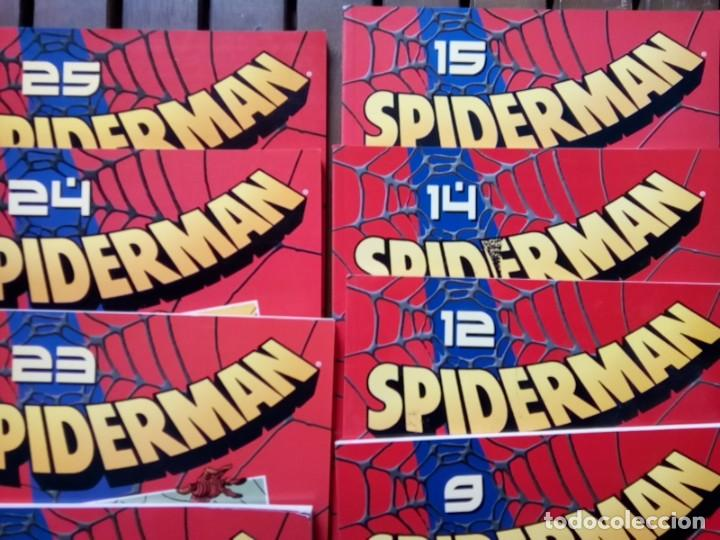 Cómics: LOTE DE 20 COMICS SPIDERMAN VOLUMEN ROJO PLANETA -AGOSTINI - Foto 4 - 264773294
