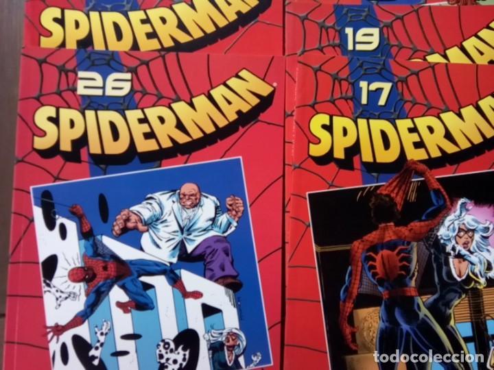 Cómics: LOTE DE 20 COMICS SPIDERMAN VOLUMEN ROJO PLANETA -AGOSTINI - Foto 5 - 264773294