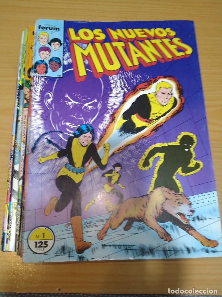 LOS NUEVOS MUTANTES LOTE NºS 1 AL 17 FORUM EN MUY BUEN ESTADO (Tebeos y Comics - Forum - Nuevos Mutantes)