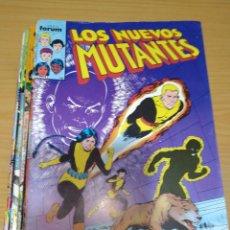 Cómics: LOS NUEVOS MUTANTES LOTE NºS 1 AL 17 FORUM EN MUY BUEN ESTADO. Lote 264967344