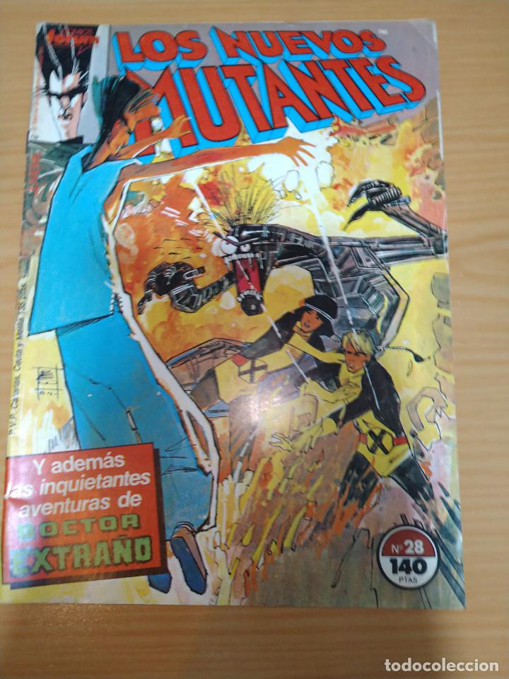 LOS NUEVOS MUTANTES Nº 28 FORUM (Tebeos y Comics - Forum - Nuevos Mutantes)