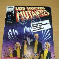 Cómics: LOS NUEVOS MUTANTES RETAPADO NºS 21 22 23 24 25 FORUM. Lote 264969654