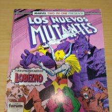 Cómics: LOS NUEVOS MUTANTES RETAPADO NºS 48 49 50 (DOBLES MARVEL TWO IN ONE) FORUM. Lote 264970784