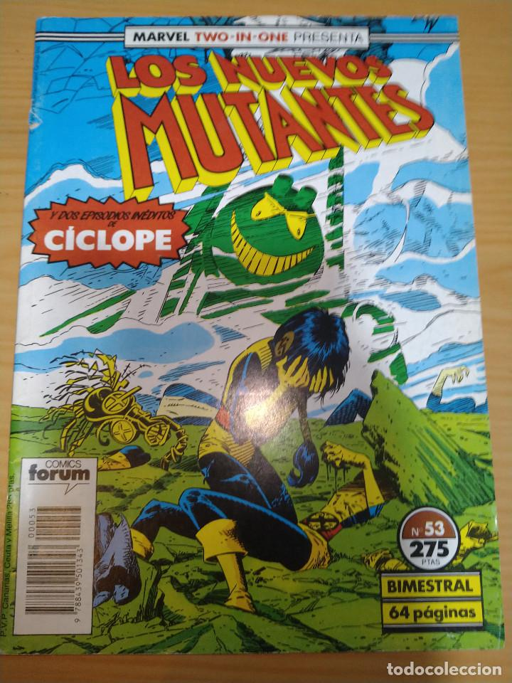 LOS NUEVOS MUTANTES Nº 53 (MARVEL TWO IN ONE) FORUM (Tebeos y Comics - Forum - Nuevos Mutantes)
