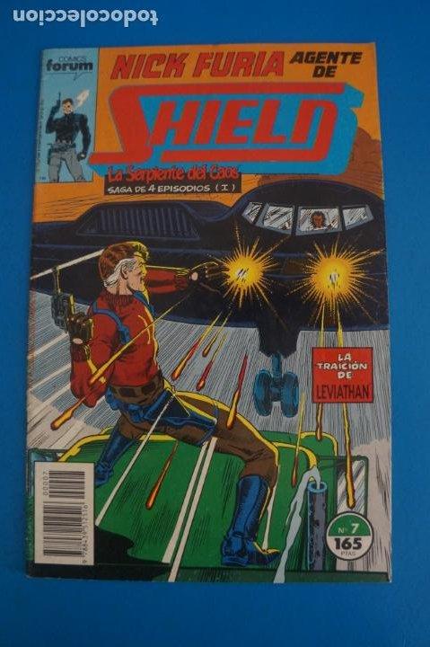 COMIC DE NICK FURIA AGENTE DE SHIELD AÑO 1990 Nº 7 DE COMICS FORUM LOTE 9 F (Tebeos y Comics - Forum - Furia)