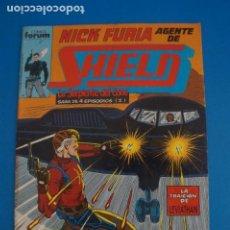 Cómics: COMIC DE NICK FURIA AGENTE DE SHIELD AÑO 1990 Nº 7 DE COMICS FORUM LOTE 9 F. Lote 265119144