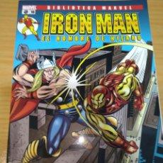 Comics: BIBLIOTECA MARVEL EXCELSIOR IRON MAN Nº 16 FORUM EL HOMBRE DE HIERRO PANINI. Lote 265397574