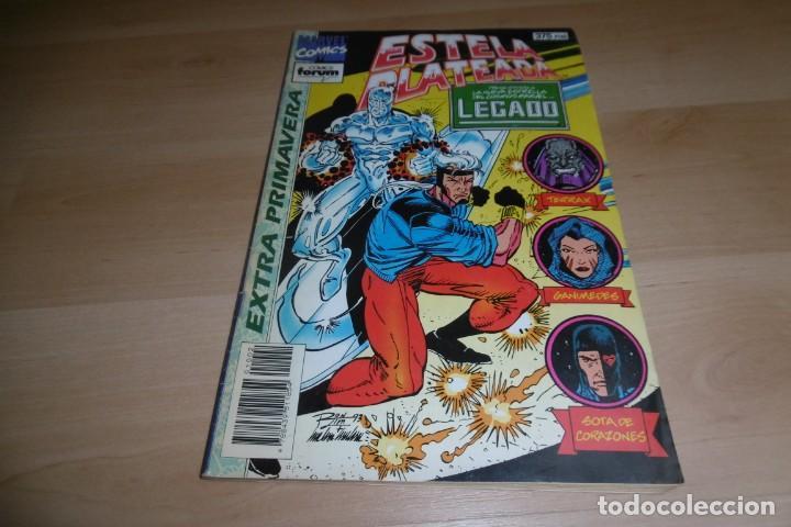 COMIC ESTELA PLATEADA EXTRA PRIMAVERA COMICS MARVEL FORUM (Tebeos y Comics - Forum - Silver Surfer)