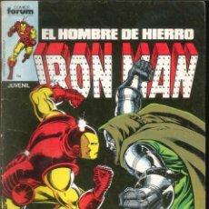 Comics: IRON MAN EL HOMBRE DE HIERRO CÓMICS FÓRUM MARVEL NÚMERO 8. Lote 265507509