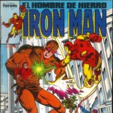 Comics: IRON MAN EL HOMBRE DE HIERRO CÓMICS FÓRUM MARVEL NÚMERO 34. Lote 265508364