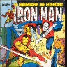 Comics: IRON MAN EL HOMBRE DE HIERRO CÓMICS FÓRUM MARVEL NÚMERO 37. Lote 265508704