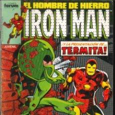 Comics: IRON MAN EL HOMBRE DE HIERRO CÓMICS FÓRUM MARVEL NÚMERO 38. Lote 265508824