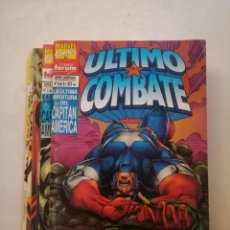 Comics : LA ÚLTIMA AVENTURA DEL CAPITAN AMERICA.ÚLTIMO COMBATE.SERIE DE 6 NÚMEROS COMPLETA.. Lote 265649734