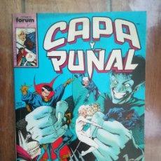 Cómics: CAPA Y PUÑAL. TOMO RETAPADO. FORUM. Lote 265653234