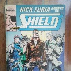Cómics: NICK FURIA. AGENTE DE SHIELD. TOMO RETAPADO. FORUM. Lote 265653734