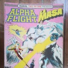 Cómics: ALPHA FLIGHT/LA MASA. TOMO RETAPADO. FORUM. Lote 265654674
