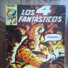 Cómics: LOS 4 FANTÁSTICOS. TOMO RETAPADO. FORUM. Lote 265655854