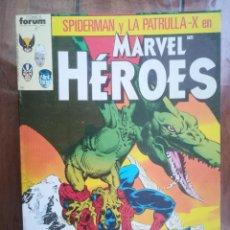 Cómics: MARVEL HÉROES. TOMO RETAPADO. FORUM. Lote 265656114