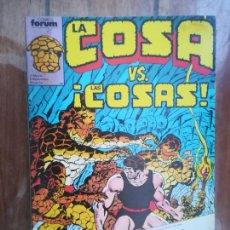 Cómics: LA COSA. TOMO RETAPADO. FORUM. Lote 265657394