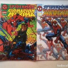 Cómics: SPIDERMAN CLONACIÓN MAXIMA OMEGA Y ALPHA.. Lote 265805489
