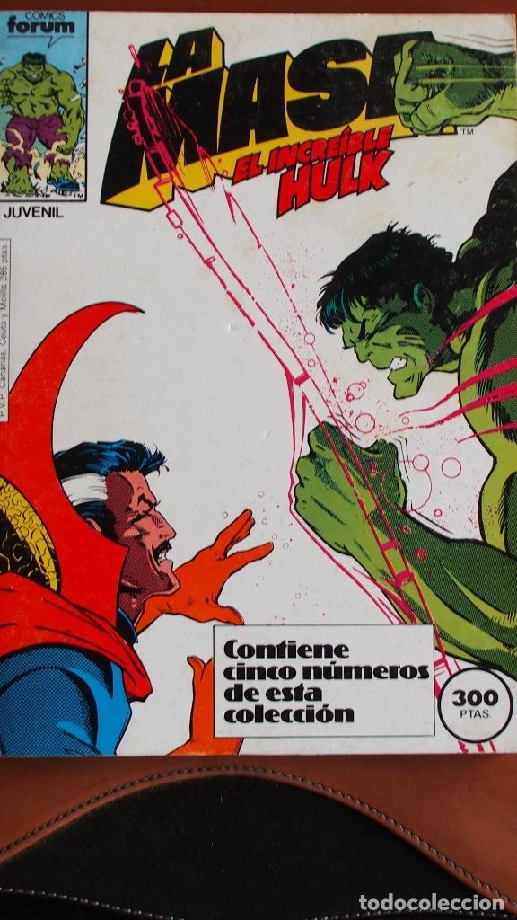 LA MASA - EL INCREIBLE HULK - FORUM - NÚMEROS 41 A 45. (Tebeos y Comics - Forum - Retapados)