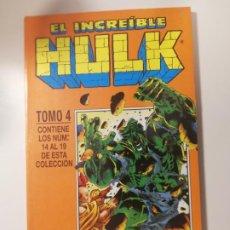 Cómics: EL INCREÍBLE HULK RETAPADO 4. NÚMEROS 14 AL 19. FORUM, 1996.. Lote 265900828