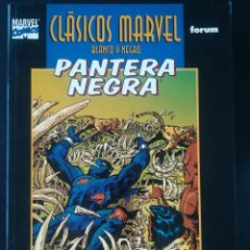 Cómics: CLASICOS MARVEL BLANCO Y NEGRO PANTERA NEGRA. Lote 266045603
