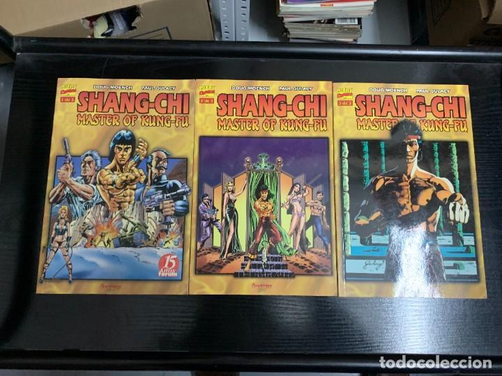 SHANG-CHI, MASTER OF KUNG-FU DE DOUG MOENCH Y PAUL GULACY/GENE DAY COMPLETA. 4 TOMOS (Tebeos y Comics - Forum - Prestiges y Tomos)