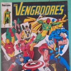 Comics : LOS VENGADORES VOL.1, NUMERO 1, MARVEL, FORUM. Lote 266278793