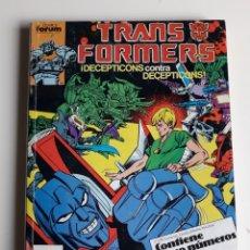 Cómics: TRANSFORMERS TOMO RETAPADO. NUM 41,42,43,44 Y 45. Lote 266309223
