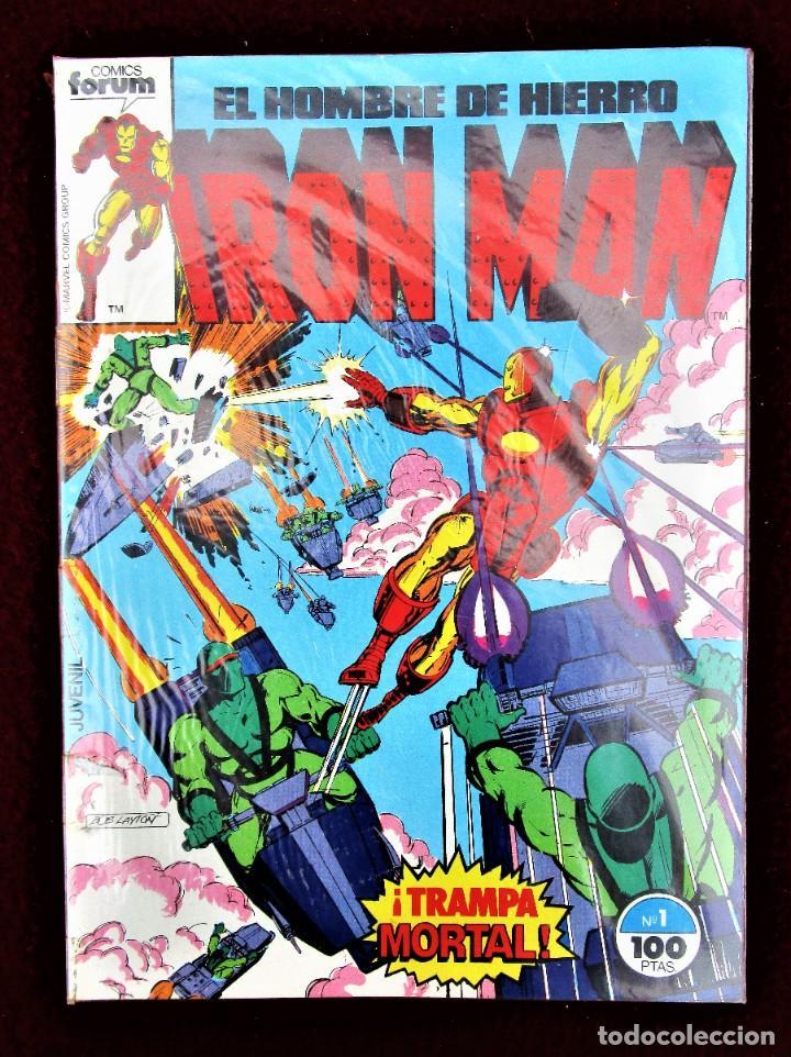 EL HOMBRE DE HIERRO IRON MAN VOLUMEN 1 Nº1 FORUM 1985 EXCELENTE ESTADO (Tebeos y Comics - Forum - Iron Man)