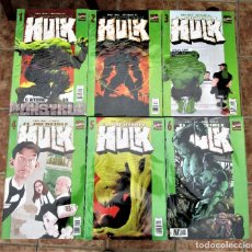 Cómics: HULK VOLUMEN 2 NÚMEROS 1 AL 6 DE LOS 13 NUMEROS TOTALES FORUM MUY BUEN ESTADO. Lote 266436113