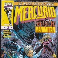 Cómics: MERCURIO - Nº 2 DE 13 - ¡UN MAL DÍA PARA EMPEZAR UNA VIDA NUEVA! - 1998 - FORUM -. Lote 266544168