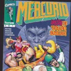 Cómics: MERCURIO - Nº 6 DE 13 - ...NIEBLAS Y TEMPESTADES... - 1998 - FORUM -. Lote 266546553
