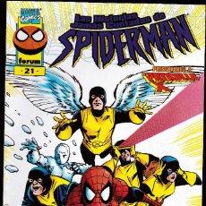 Cómics: LAS HISTORIAS JAMÁS CONTADAS DE SPIDER-MAN - VOL.1 - Nº 21 - PATRULLA X - FORUM -2-. Lote 266585493