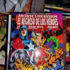 Cómics: HEROES REBORN EL REGRESO DE LOS HEROES. Lote 266710033